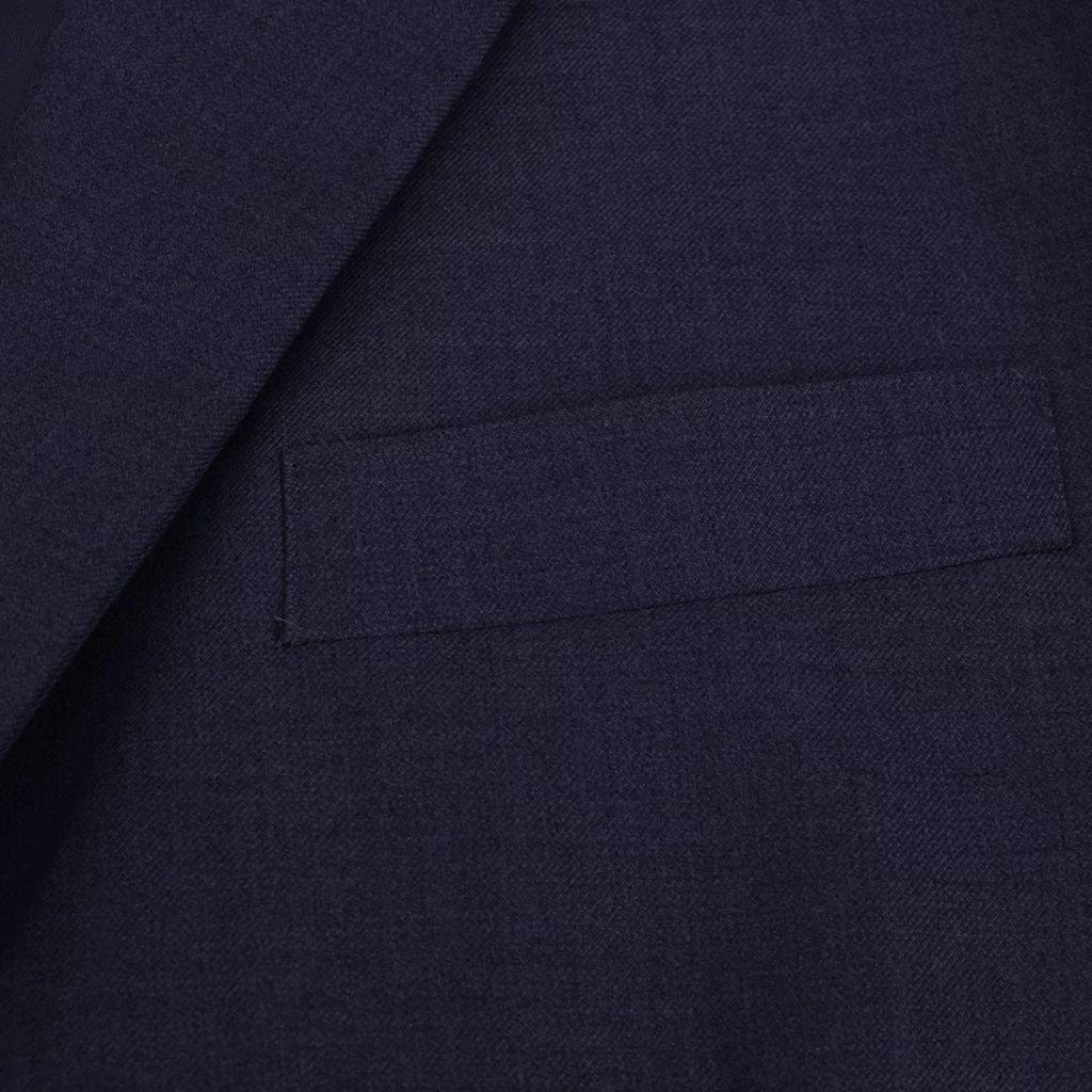FESTNIGHT Traje de Hombre Dos Piezas con Corbata Azul Marino Talla ...