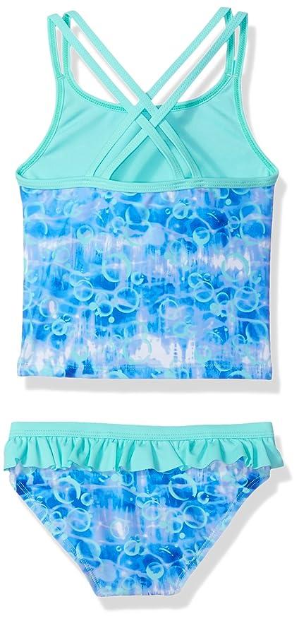 32ea6d1564ca98 Amazon.com: Angel Beach Little Girls Tye Dye Mermaid Foil Tankini Swim Set:  Clothing