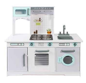 Bayer Chic 2000 307 35 - Cocina de Juguete, Color Blanco y Verde ...