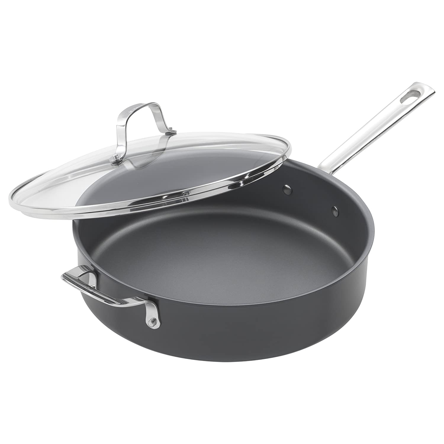 Emeril Lagasse 5-Quart Nonstick Hard Anodized Saute Pan
