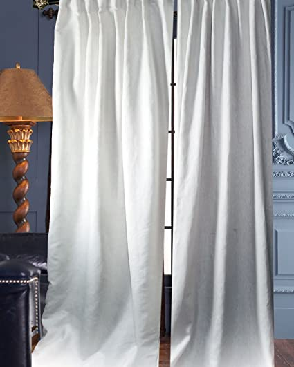 100 Linen Panels Curtains Drapes White 50quot