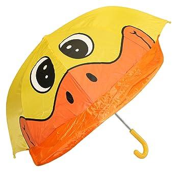 Idena 7860019 - Paraguas infantil dibujo de pato (diámetro: 94 cm) [Importado