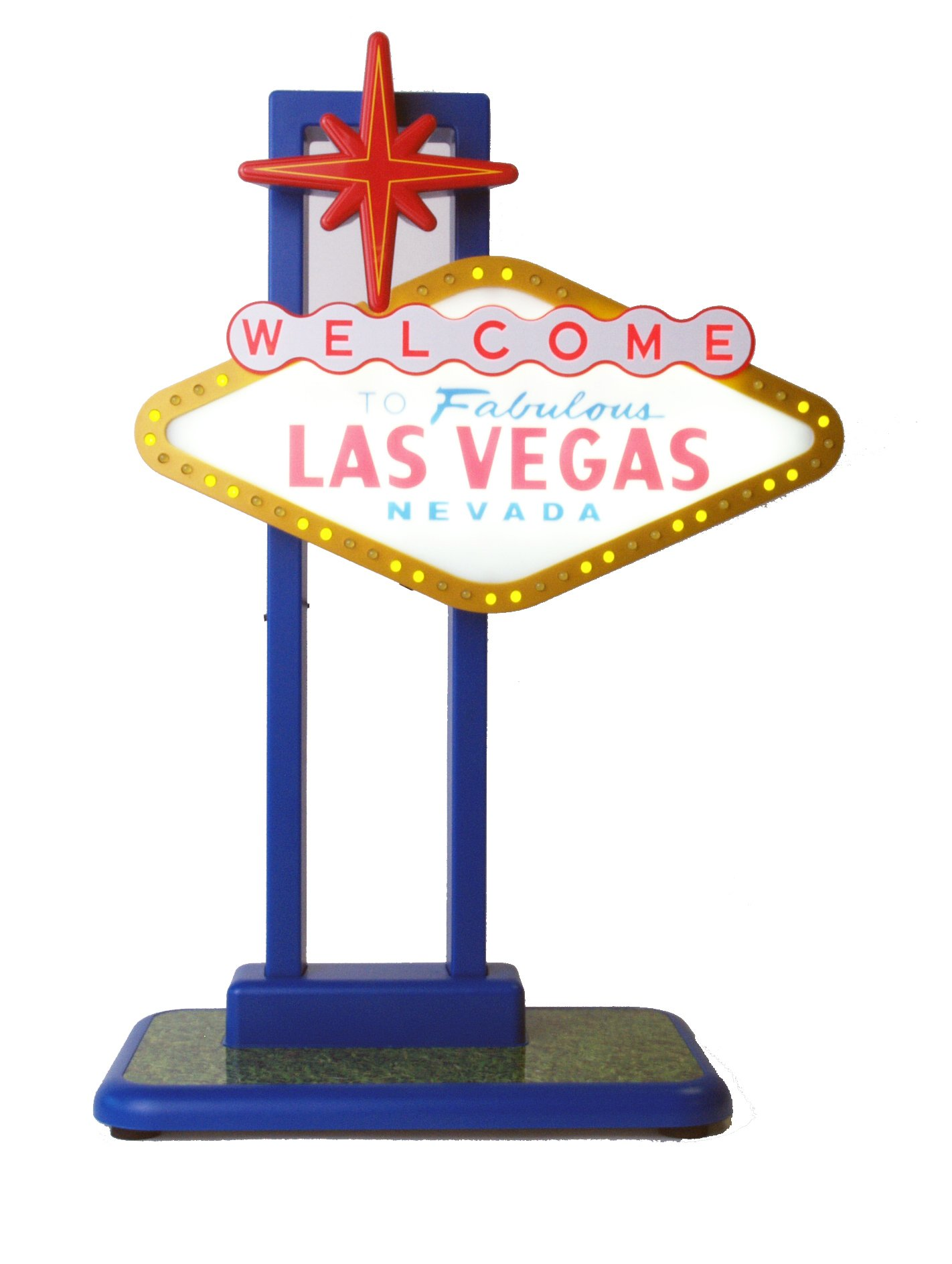 John N. Hansen Light-Up Las Vegas Sign by John N. Hansen