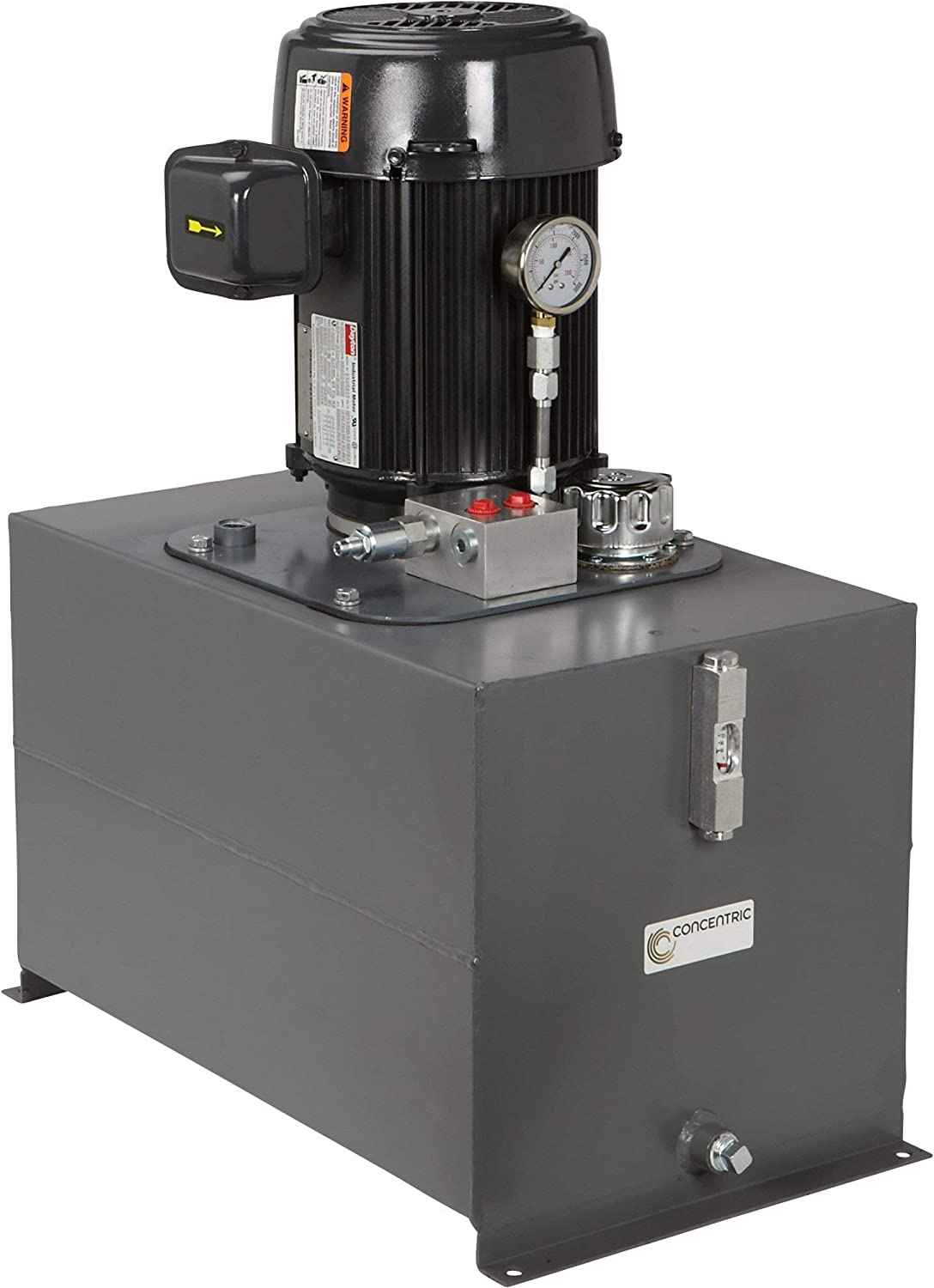5 HP 230//460V AC Haldex AC Hydraulic Power System Self-Contained Model Number 1400030