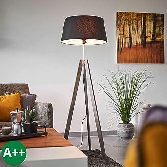 Stehlampe Dreibein Standleuchte Standlampe Leseleuchte Wohnzimmerleuchte E27
