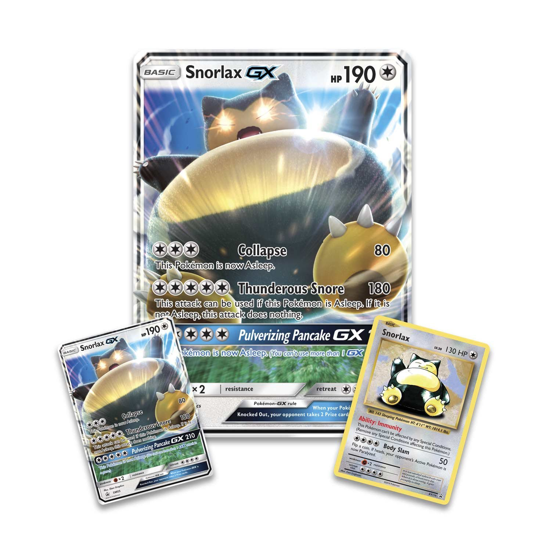 Pokemon TCG: Snorlax GX Box Card Game