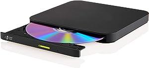 Hitachi LG GP96Y Multi OS External DVDRW(Fire, Android, Windows, Mac) – External DVD, DVD Burner, DVD Writer, DVD Recorder, USB C – Fire HD Tablet, Laptop, Notebook, MacBook, MacAir, Surface, Galaxy