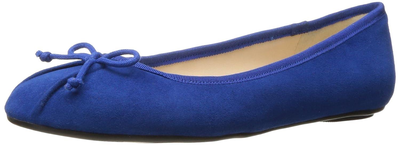 Nine West Women's Batoka Suede Ballet Flat B01MRKKYEF 6.5 B(M) US|Blue