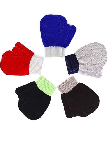 Amazon.com: Boao 5 pares de guantes elásticos para dedos ...