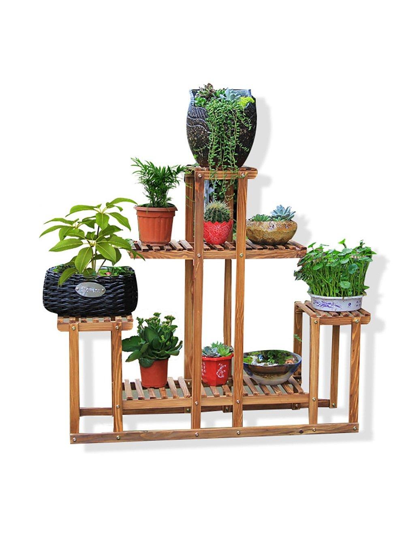 Massivholz Blumenregal Wohnzimmer Mit Balkon Mehrschicht Regal Holz