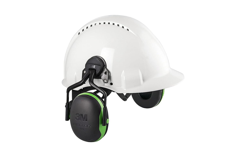 3M Peltor X5P3 35 dB Helmet Mounted Earmuffs Black