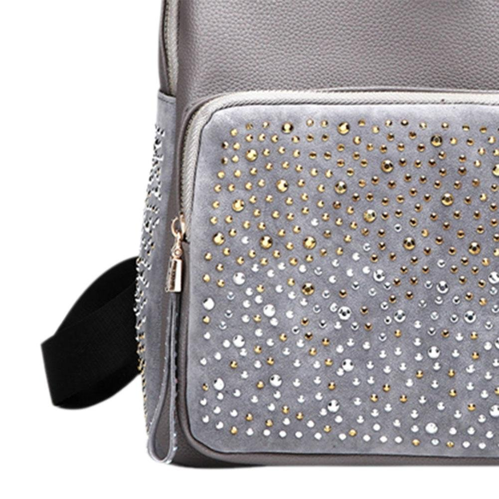 35aaaf36d382 Amazon.com: Jocestyle Women Handbag Shining Rhinestones Backpack ...