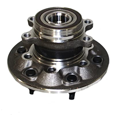 Detroit Axle 515121 Front Wheel Hub and Bearing Assembly For 2009-2012 Chevrolet Colorado GMC Canyon 4x4 w/ABS: Automotive
