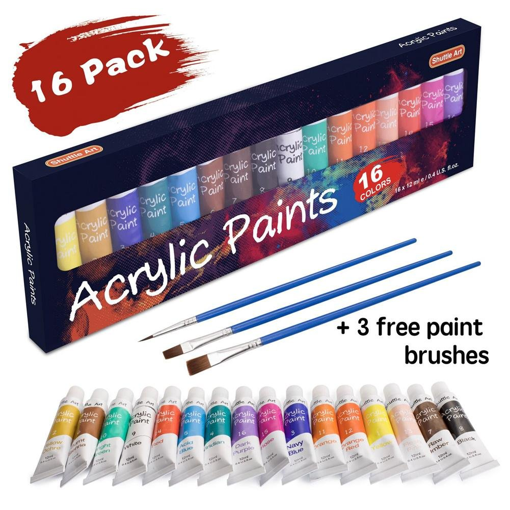 16ct Acrylic Paint Set on Sale...