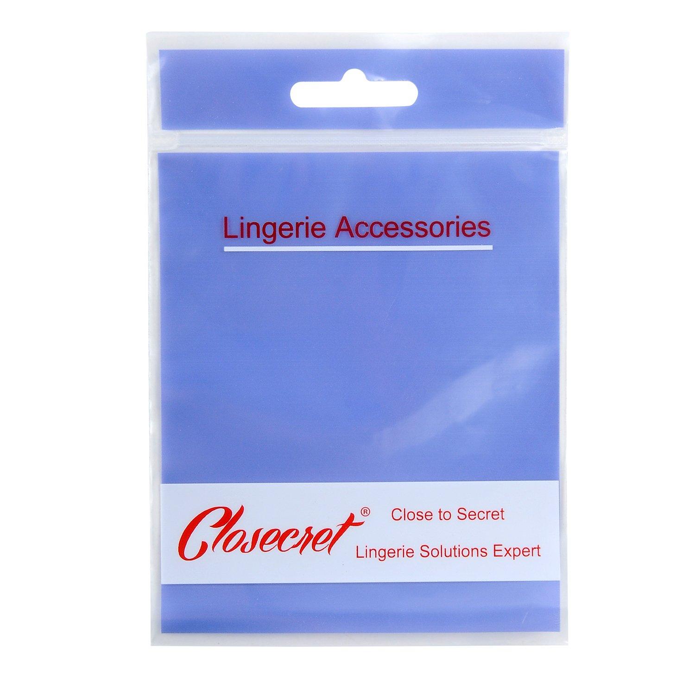 Closecret Women Bra Extender 3 Hook Brassiere Straps Extension1//2 3//4 inch Spacing csba0303h03