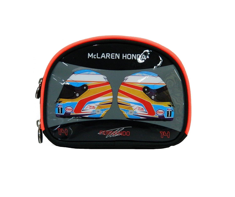 McLaren Honda - Fernando Alonso Pencil Case - Talla - 45x42x33 - Color - Negro