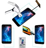 Acm Tempered Glass Screenguard Compatible with Panasonic P85 Nxt Mobile Screen Guard