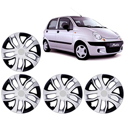 Auto Pearl Premium Quality Car Tyre Wheel Hub Caps/Cover Black ...
