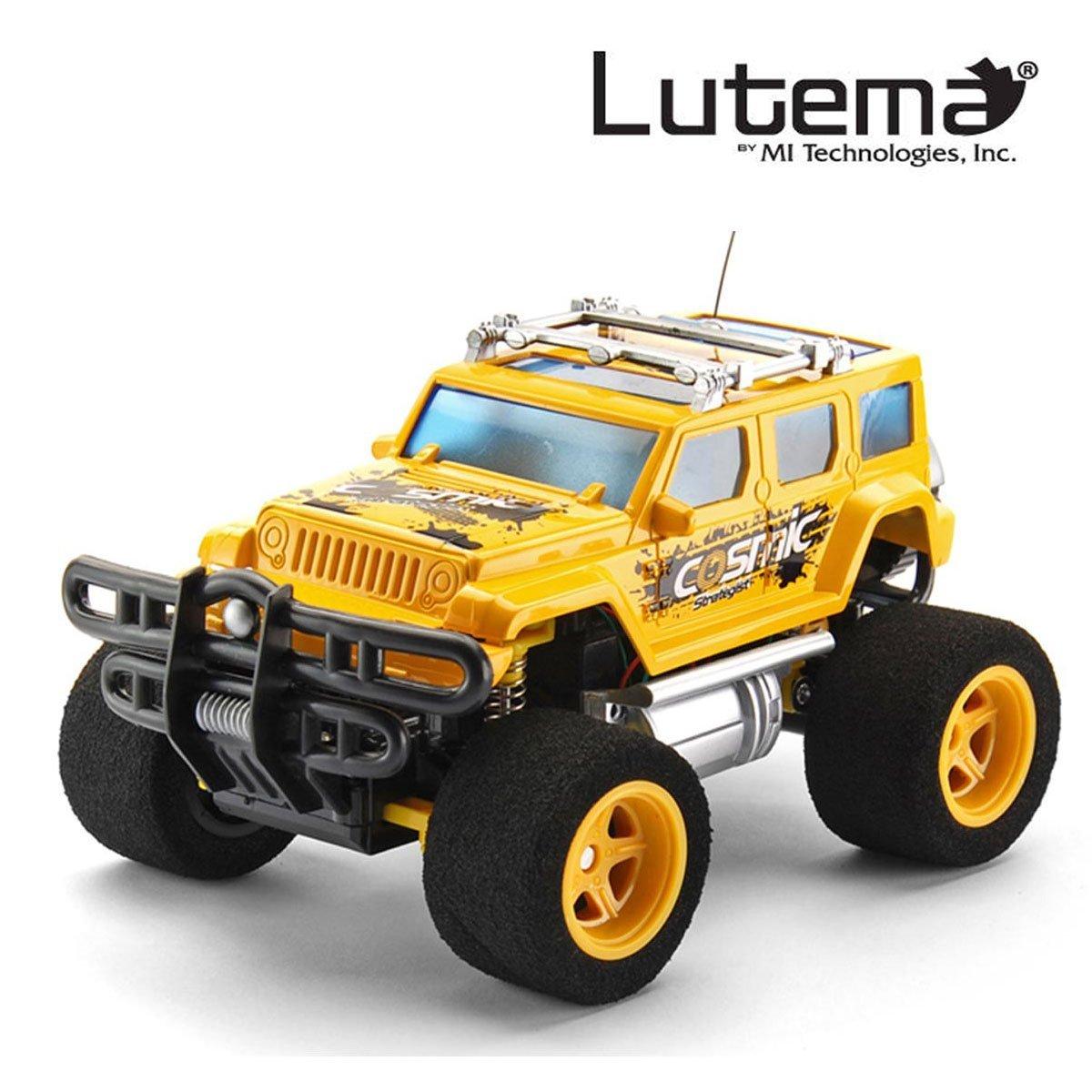 Lutema Cosmic Rocket 4Ch Remote Control Truck Yellow 10