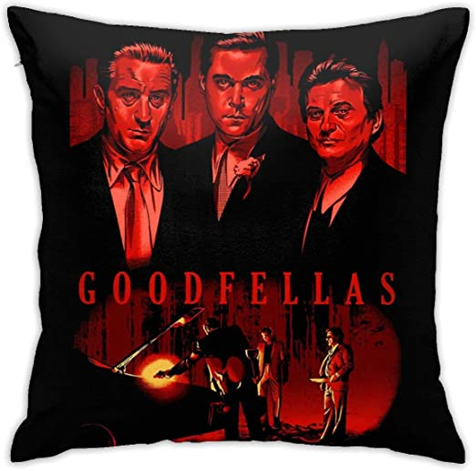 Amazon Com Shleyrobbie Goodfellas Bedding Pillowcase 18 X 18 Bed And Sofa Pillow Upholstery Pillow Case Home Kitchen