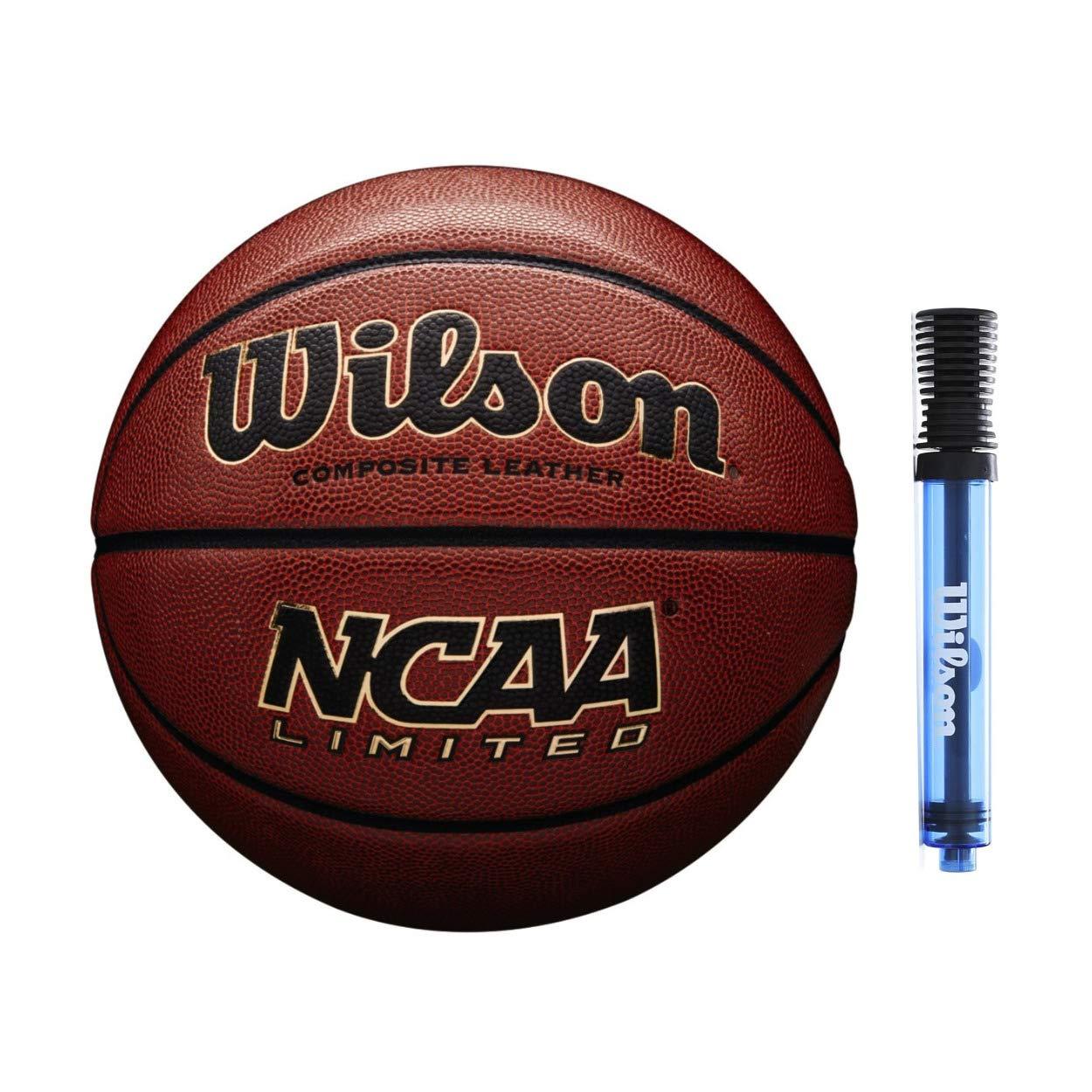 Wilson NCAA Limited Composite - Balón de Baloncesto (Piel, tamaño ...
