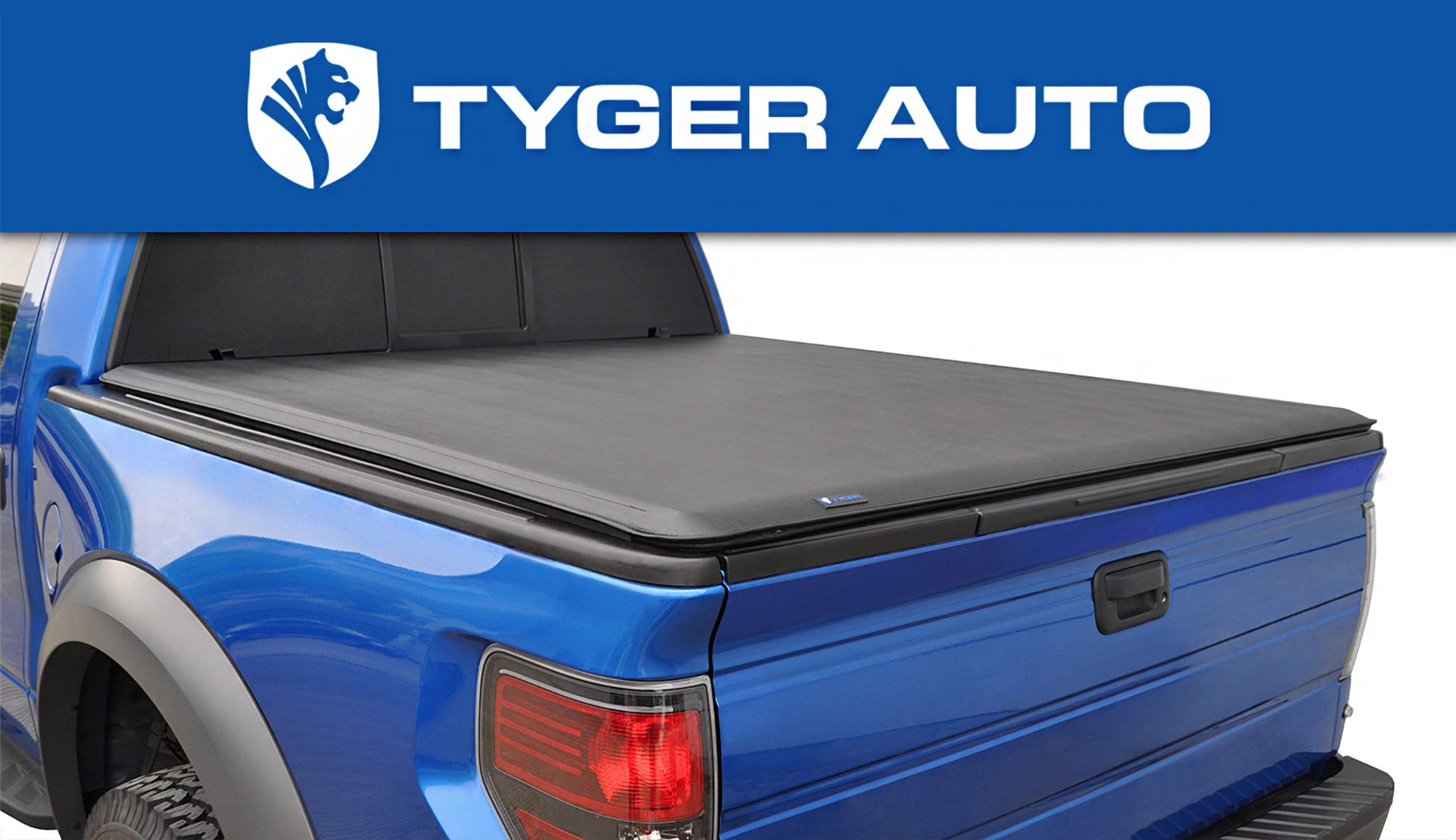 Tyger Auto T1 Roll Up Truck Bed Tonneau Cover TG-BC1D9047 Works with 2019 Ram 1500 New Body Style | Without Ram Box | Fleetside 6.4' Bed