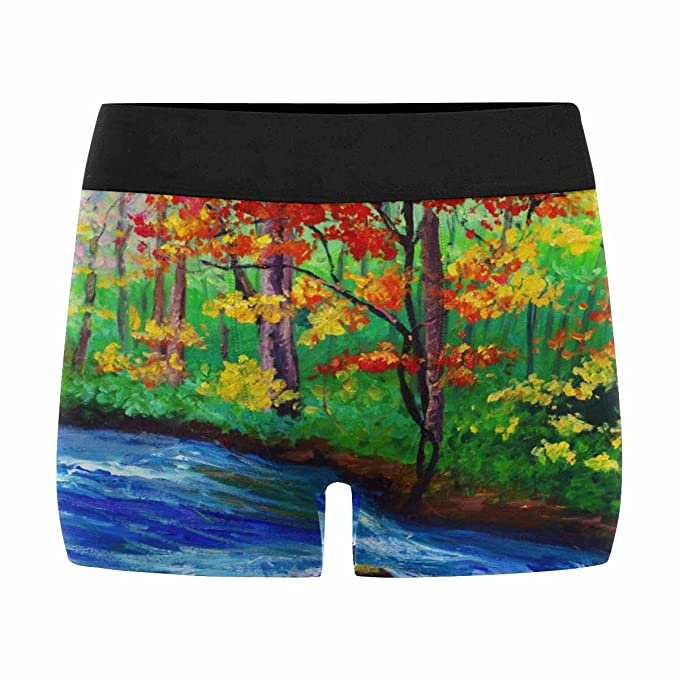 XS-3XL INTERESTPRINT Custom Mens All-Over Print Boxer Briefs