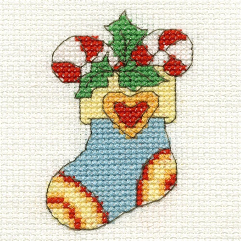 Mini christmas stocking cross stitch patterns