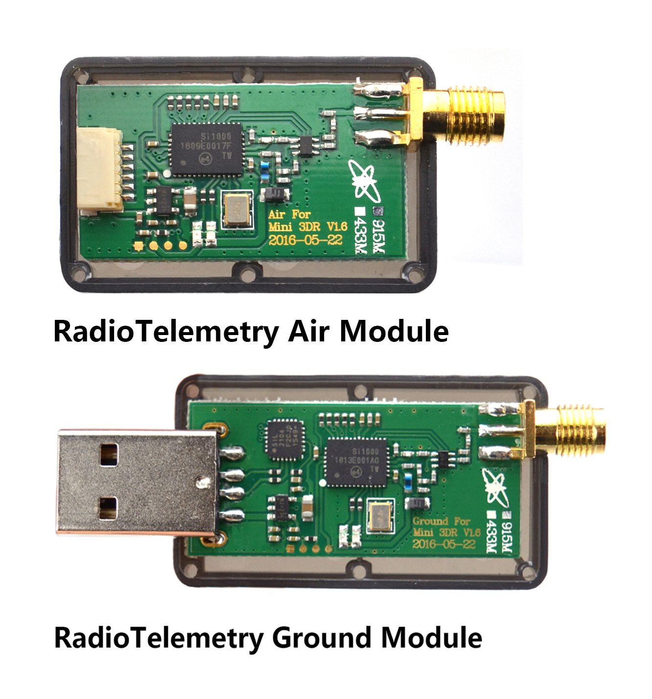Readytosky 3DR Radio Telemetry Kit 915Mhz 100mW Air + Ground Module Open Source for Standard Version APM2.6 APM2.8 pixhawk 2.4.6 2.4.8 Flight Controller by Readytosky (Image #6)