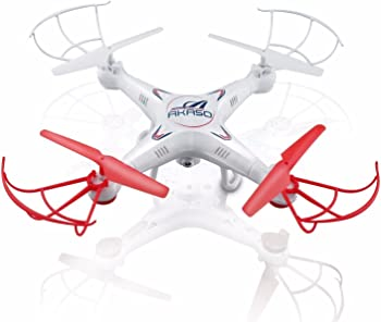 Akaso X5C 4-Channel 2.4-GHz 6-Axis Gyro RC Drone Quadcopter
