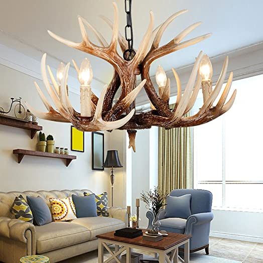 Chinese Chandelier Antique Bedroom Lights Antlers Light American Antique Jane European Living Room Lights Restaurant Corridor Retro Chandelier