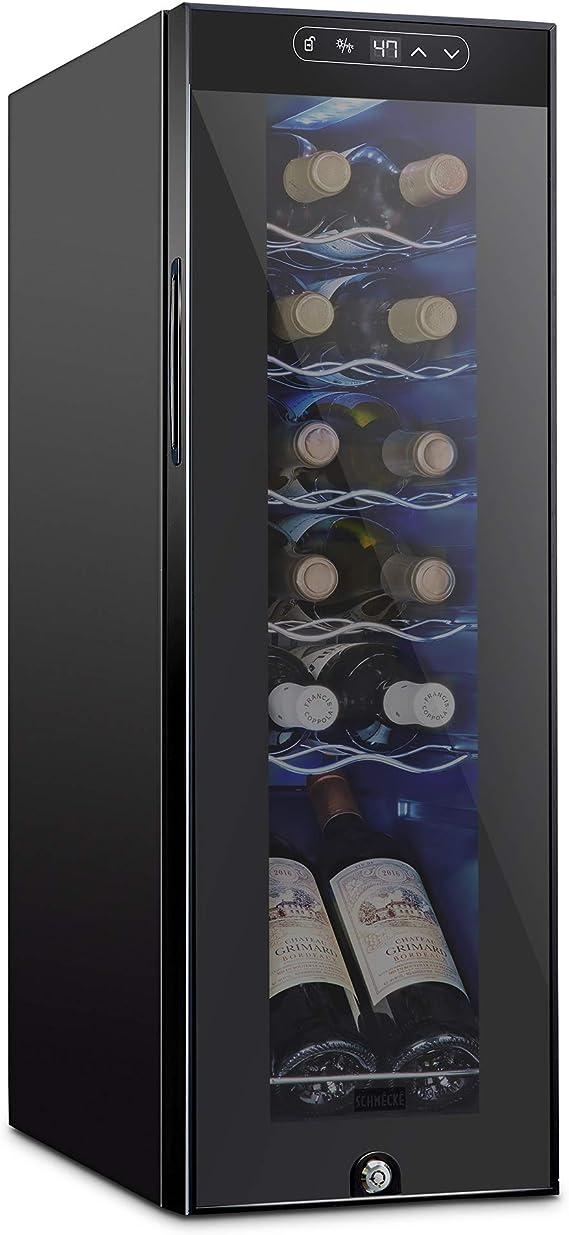 Schmecke 12 Bottle Compressor Wine Cooler