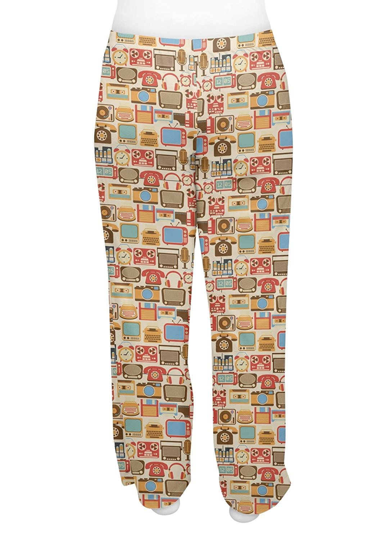RNK Shops Retro Electronics Womens Pajama Pants Personalized