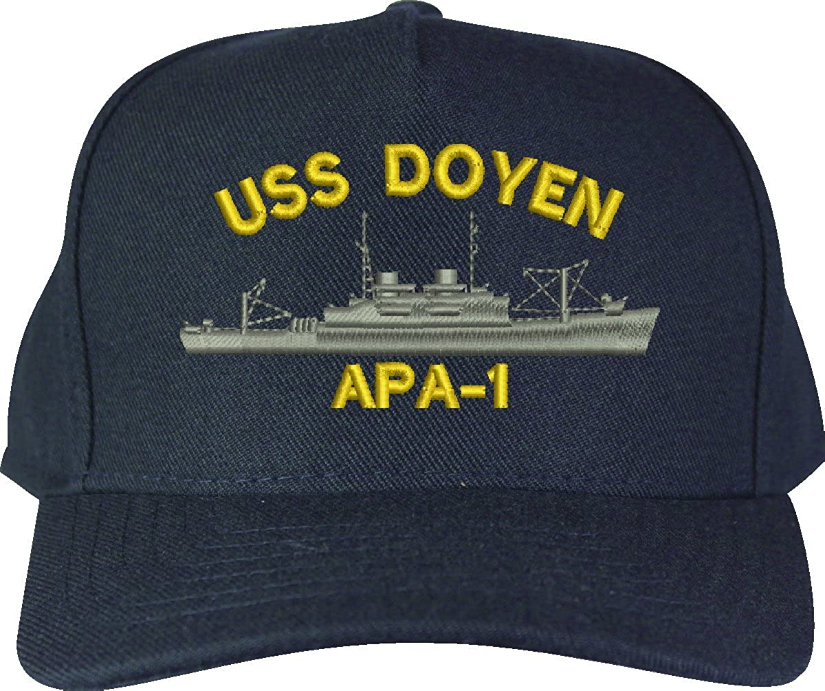 APA Class Attack Transport Ship Cap MilitaryBest Custom Doyen