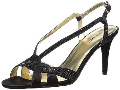 9c3731c585a Nine West Women s Illiona Satin Heeled Sandal  Amazon.co.uk  Shoes ...