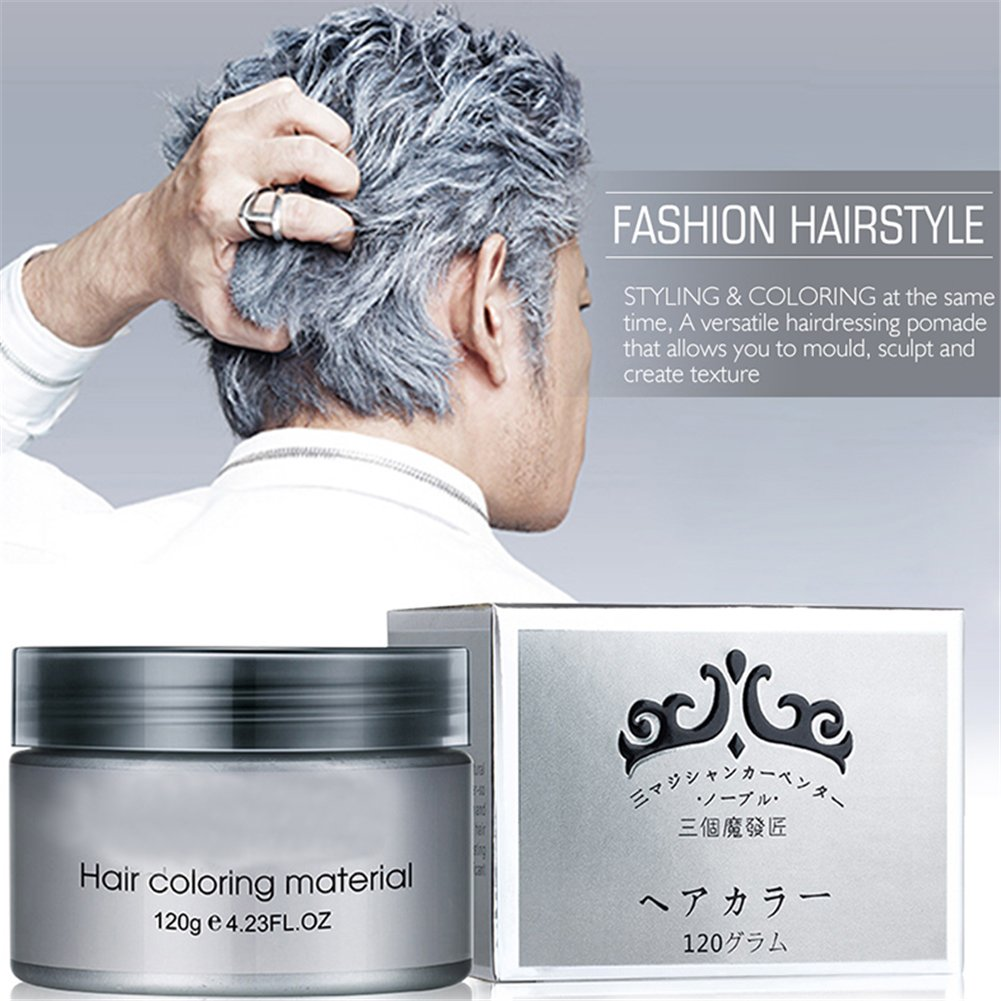 Amazon Harajuku Style Styling Products Hair Color Wax Dye One