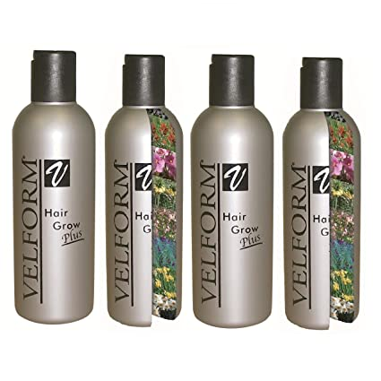 Velform Hair Grow Plus - Loción crecepelo (4 unidades): Amazon.es ...