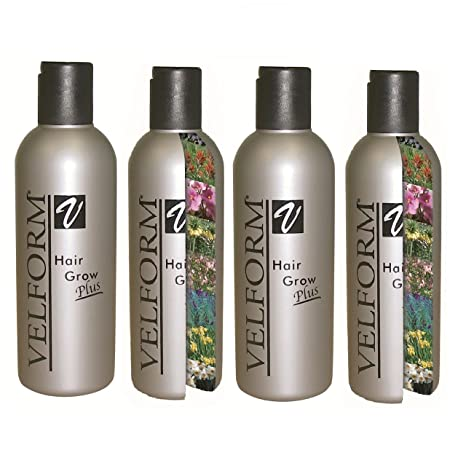 Velform Hair Grow Plus - Loción crecepelo (4 ...