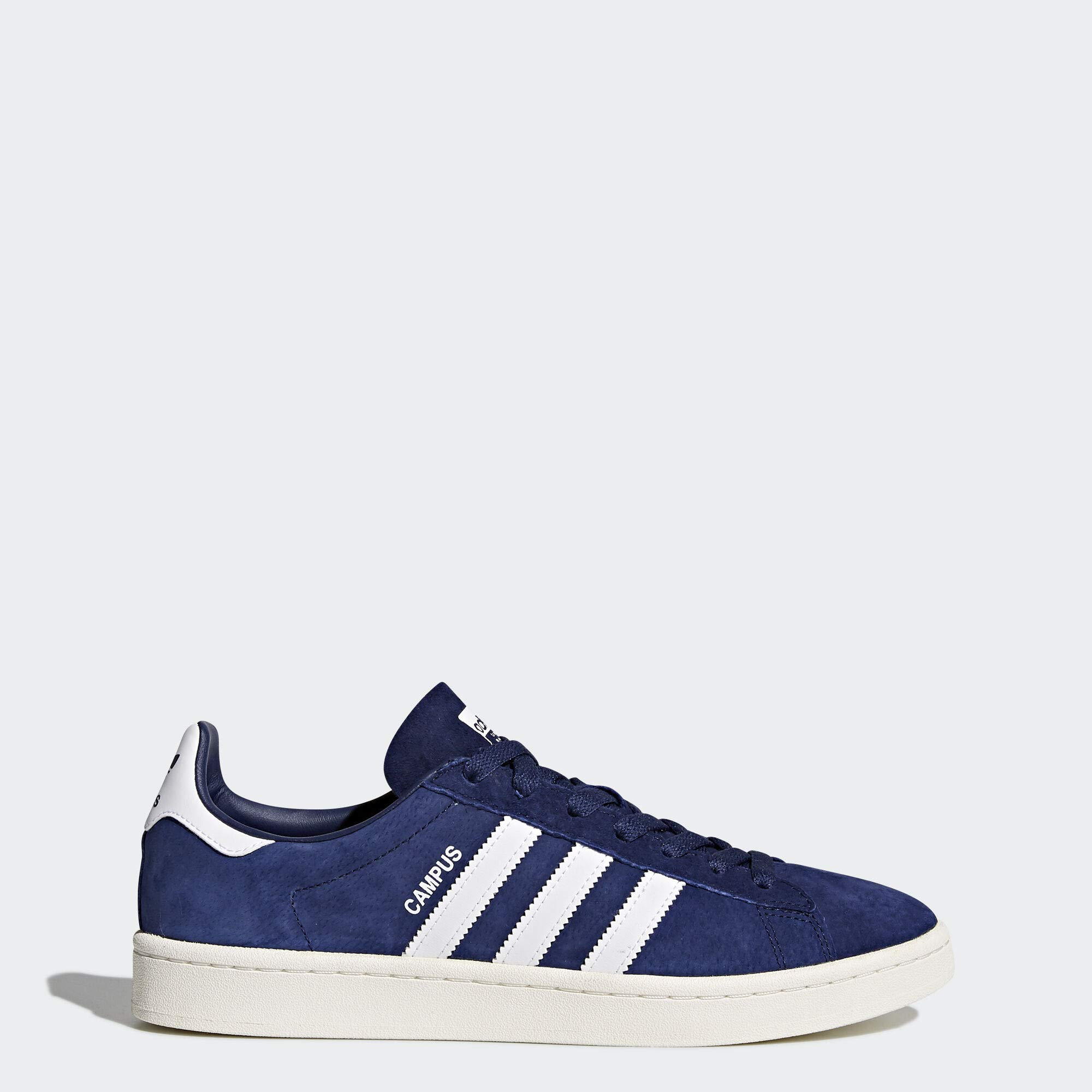 adidas Originals Men's Campus Sneakers, Dark Blue Chalk White, (9 M US)