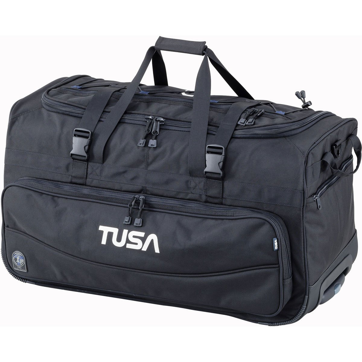 TUSA - Dive Gear Roller Duffle Bag in Black by TUSA