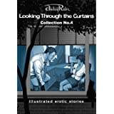 """""""Looking Through the Curtains"""" series of 200 erotic stories. Collection No. 4 (Stories 76-100): Illustrated sex stories that"""