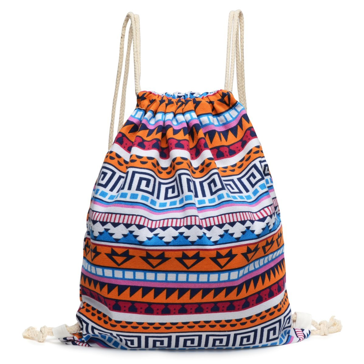 964947cf3402 70%OFF Odema Gym Sack Bag Drawstring Backpack Men   Women Sport Bag School  Travel