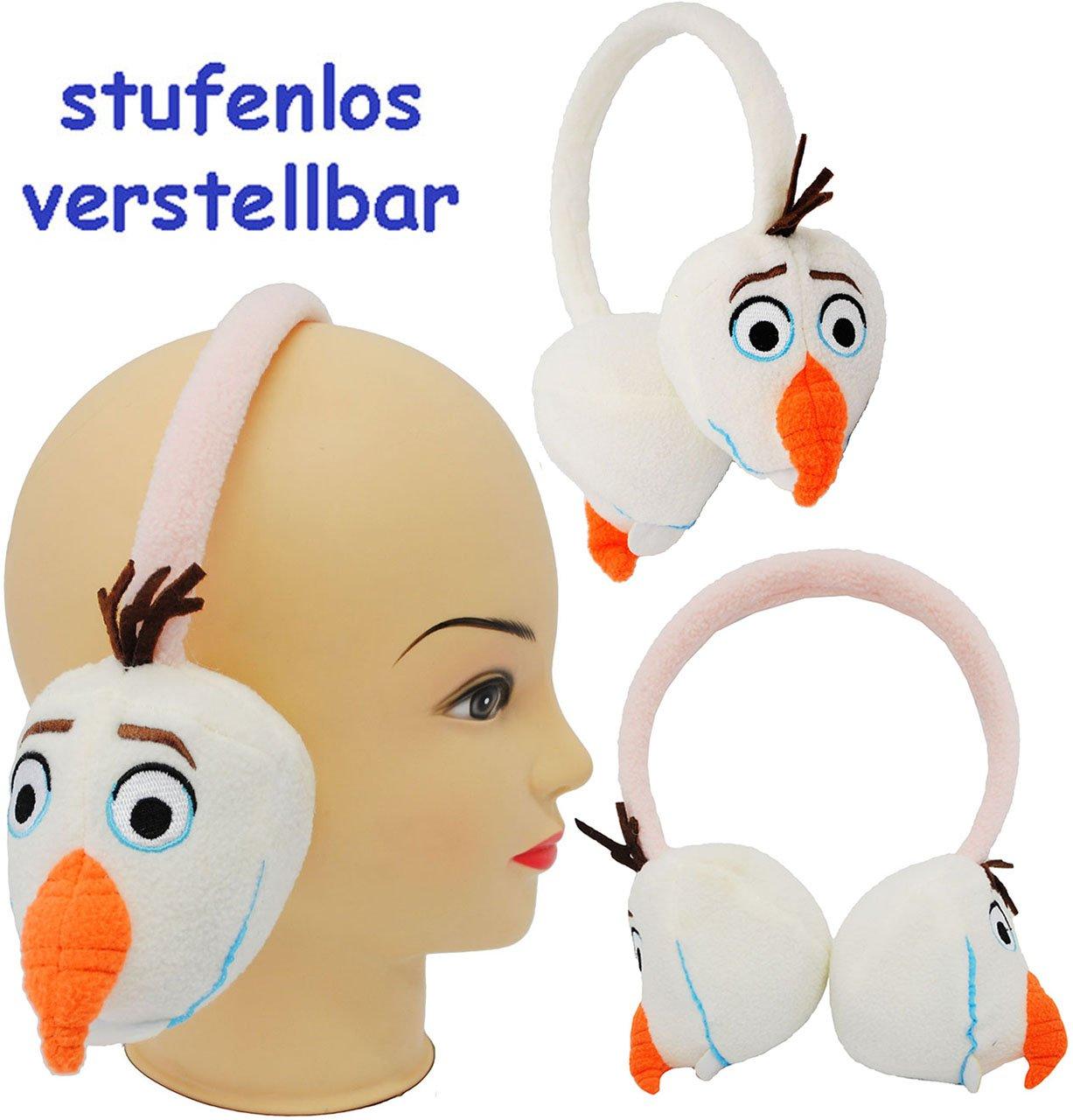 alles-meine.de GmbH 1 Stück _ 3-D Effekt _ Ohrenschützer - Frozen / Disney die Eiskönigin - Schn..