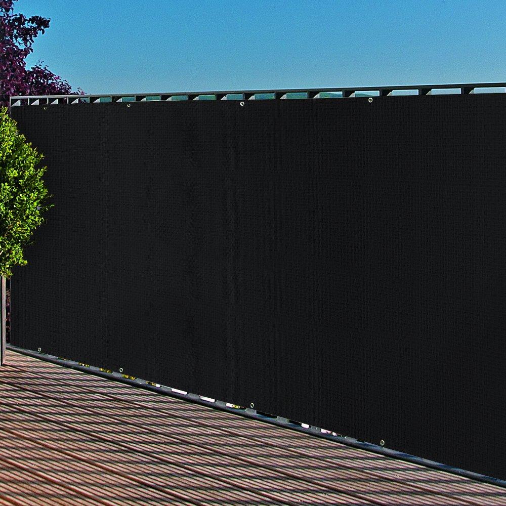 Amazon Balkonblende mit –sen PE Balkon Bespannung 0 9x3m