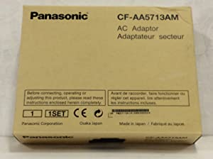 Panasonic CF-AA5713AM AC Adapter for Toughbook Notebooks: CF-31MK1, CF-52MK3