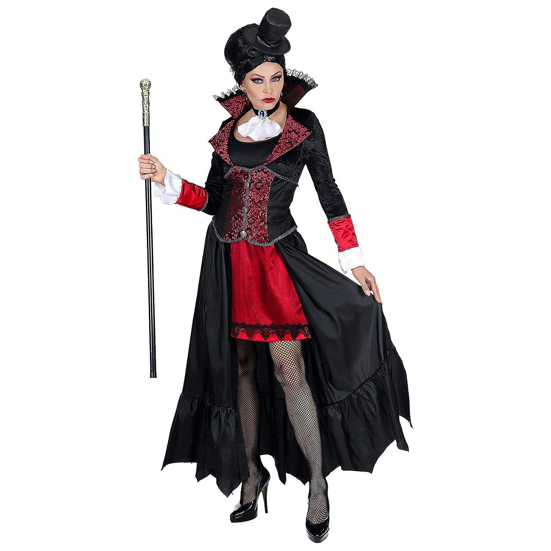 WIDMANN Disfraz de Vampiresa Lunia para Mujer M: Amazon.es ...