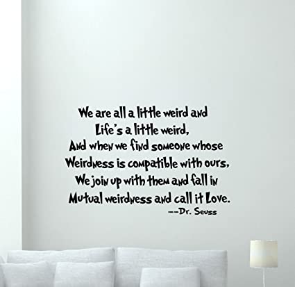 Amazon Com Dr Seuss Quotes Wall Decal Lettering Vinyl Sticker Wall