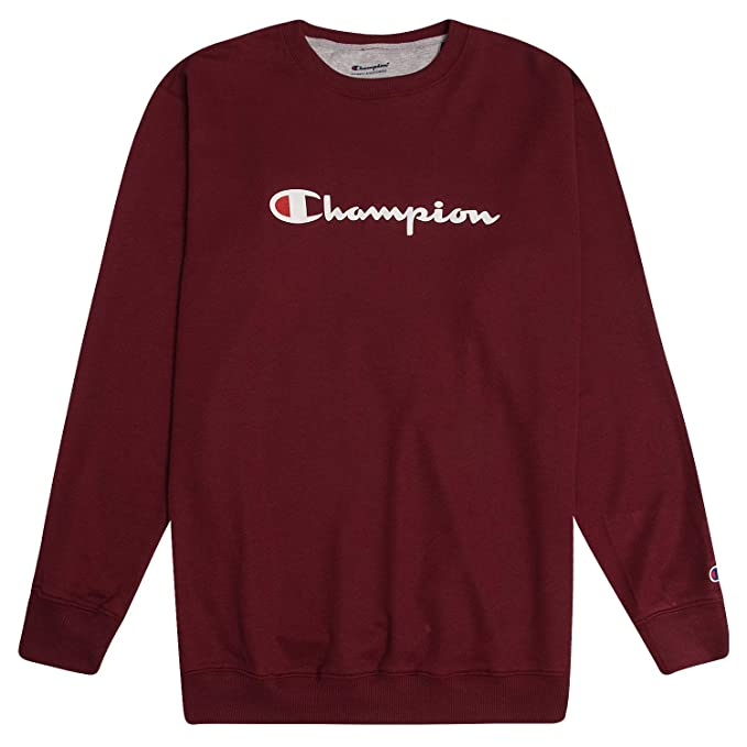 Champion Sweatshirt Mens Big and Tall Logo Sweater Crewneck Sweatshirt