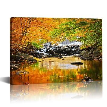 Magnificent Waterfall Wall Art Gift - Wall Art Design ...