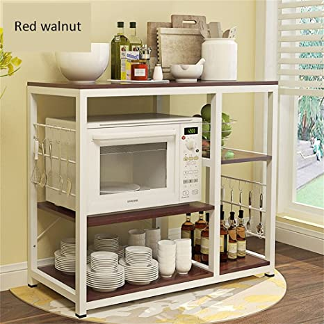 Muebles de cocina 3 capas de soportes para hornos de ...